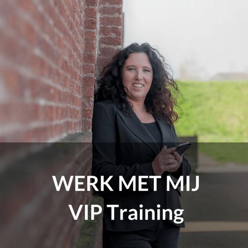 werk met mij - vip training