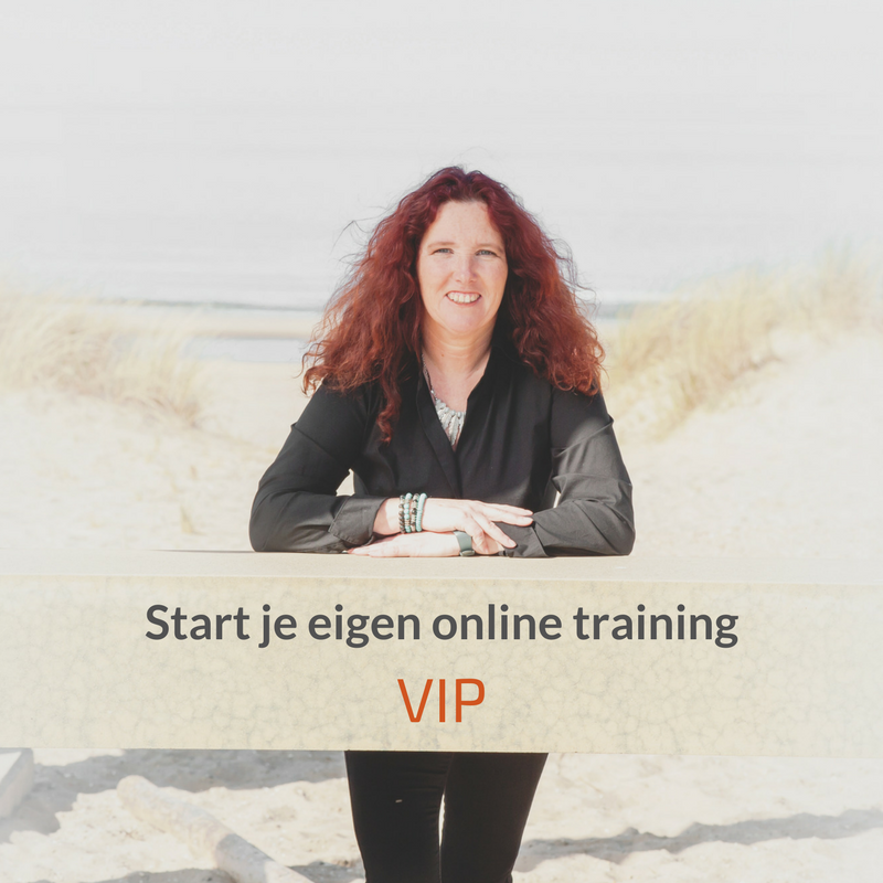 Start je eigen online training – VIP