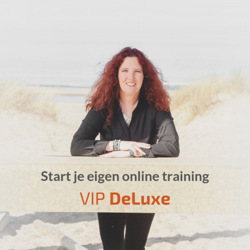 Start je eigen online training - VIP-DeLuxe