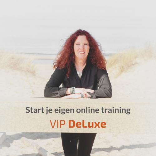 Start je eigen online training - VIP-DeLuxe