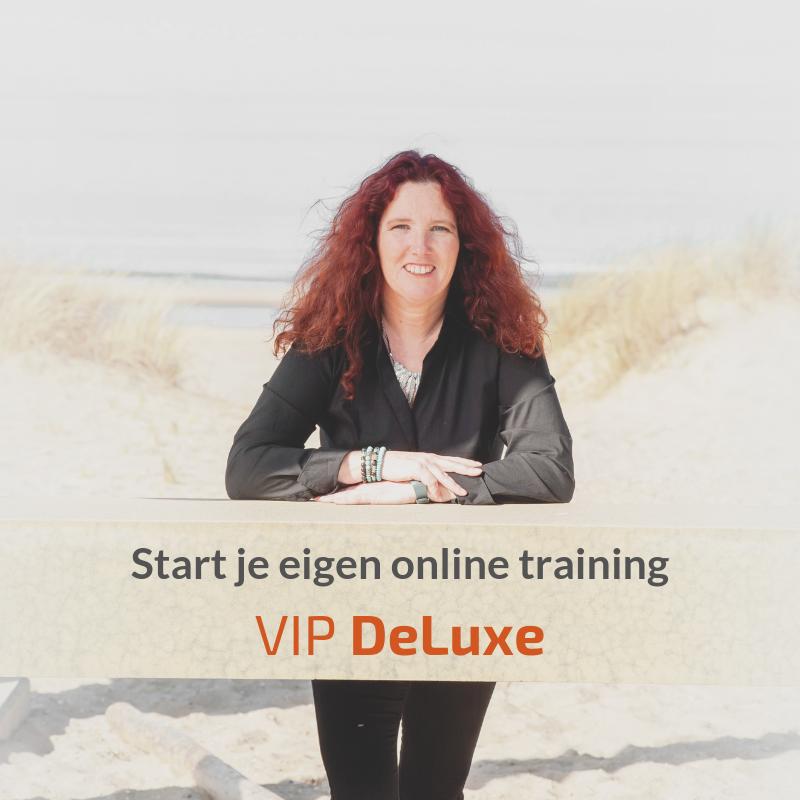 Start je eigen online training – VIP DeLuxe