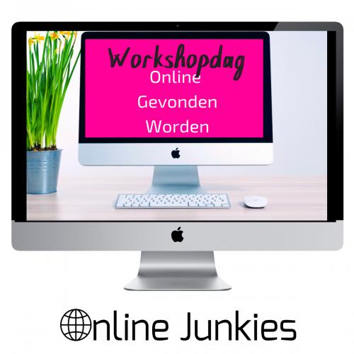 Online Gevonden Worden Workshopdag