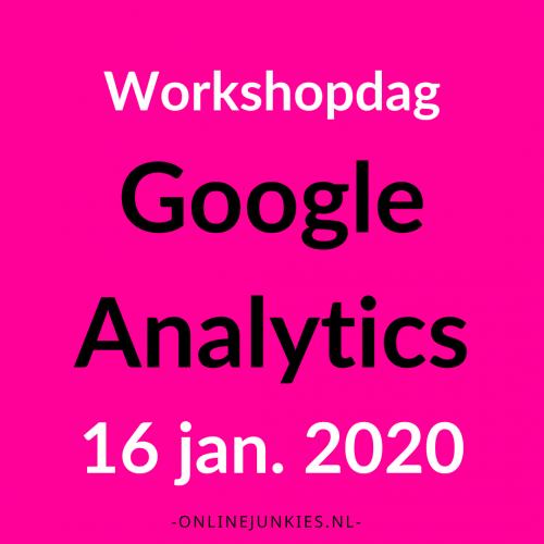 Google Analytics Workshopdag